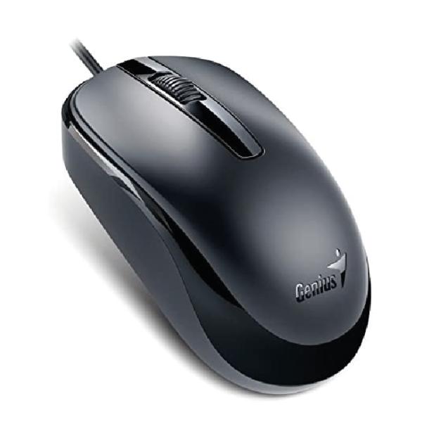 Mouse USB Genius DX-120 Color Negro